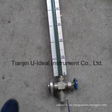 Simple y barato de vidrio de nivel tubular Indicador de nivel de medición