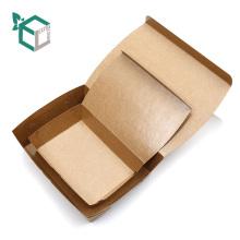 La comida hecha de cartón kraft material de la categoría alimenticia saca la caja de comida barata del envase