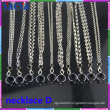 Electronic Cigarette Accessories Metal Ego-t Necklace For E-cigs