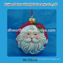 Fancy ceramic hanging decoration for christmas