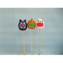 Calabaza de Halloween Arte y Artesanía de Cerámica (LOE2373-6p)