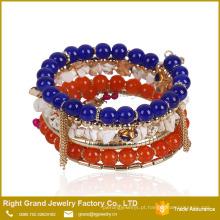 Excelente Qualidade Novo Design Bangles E Pulseiras Charm Bead Bracelet