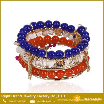 Ausgezeichnete Qualität neue Design Armbänder und Armbänder Charm Bead Armband