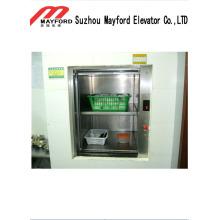 Haarloser Edelstahl-Dumbwaiter-Aufzug mit elektrischem Wechselstrom