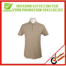 Camisa de tênis de algodão com logotipo impresso para promoção