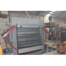 Placage / laminage de plaques de cuisson Hot Press Machine