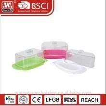 Caixa de plástico queijo servidor do alimento