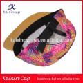 2016 conception personnalisée de haute qualité motif de chapeaux de femmes
