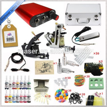 Professionelle Mini Tattoo Kit, Tattoo Ausrüstung mit 2 Tattoo Gun