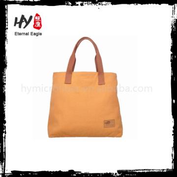 Nouveau fashional taille normale évalué fournisseur toile de coton sac logo imprimé évalué fournisseur sac de toile de coton