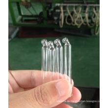Klare röhrenförmige gebogenes Glaspipette für ätherisches Öl Verpackung