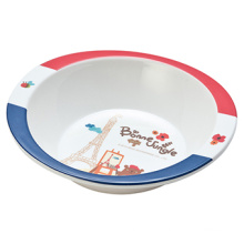 Melamine France Bear Series Kids′ Salad Bowl (FB12114)