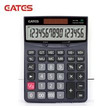 Dual Power Electronic Calculator 16 Digits Large Size Scientific Calculator Office Desktop Calculator