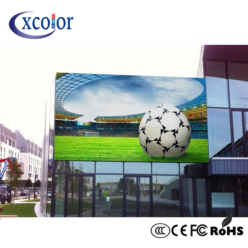 Quick Delivery Big Tv Advertising P6 Led Screen