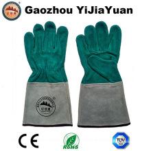 Guantes de trabajo de cuero de soldadura con alta calidad