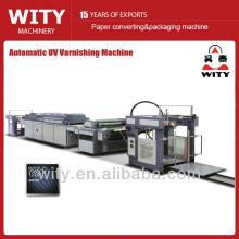 Máquina automática de barniz UV de papel