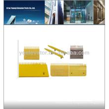 Escalador Peine Placa, placa de peine de escalera para las piezas de la escalera mecánica