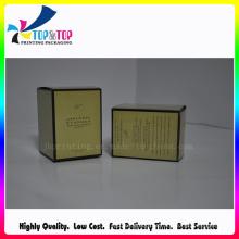 Ambiental papel cartão de velas caixa de embalagem