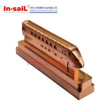 Peças fazendo à máquina do CNC dos produtos de cobre do fabricante de Shenzhen′s