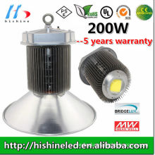 Super Bright 200w 120degree Reflector 18500lm High Bay Led Light Ce Rohs Pse Certification