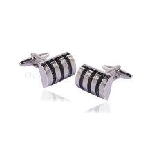 2014 Fashion Wedding Cufflinks Men′s Silver Ring