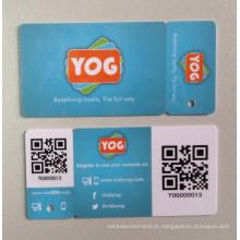Offest Impressão Código de barras / Fita magnética / Metal VIP Card