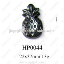 Hematite pineapple Pendants