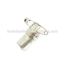 Fashion High Quality Metal Badge Clip Safety Pin