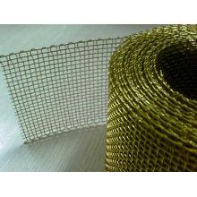 Malla de alambre de latón
