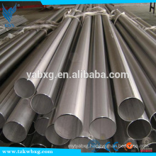 GB9787 2B and annealed AIS304L stainless steel round pipe