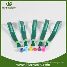 Publicité sur mesure publicitaire promotion concert bracelets textiles