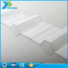 Light weight corrugated polycarbonate clear plastic roofing sheets