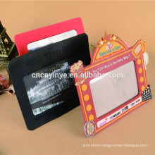 Eco-friendly Promotional 2D Rubber Picture Frame Holder