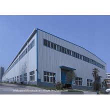 Atelier de structure métallique préfabriquée, entrepôt