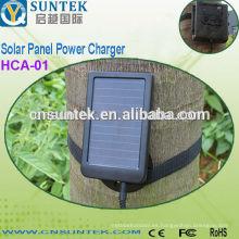 Cámara de caza Cargador de energía solar