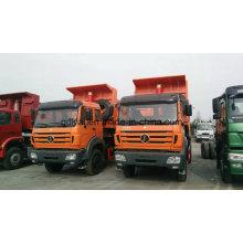 Beiben 6X4 25t ~ 30 tonnes camions à benne basculante pour le transport