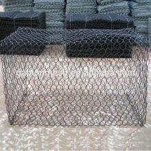 Fornecedor de malha de arame gabião revestido de PVC