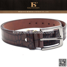 Cinturón de cuero perfecto del cocodrilo de la alta calidad del diseño