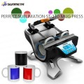 Double-station Coffee Cup Heat Press Machine