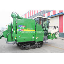 Gold dafeng rice paddy combine harvester