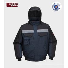 Vestes de pilote d'hiver de vêtements de travail par China manufacture