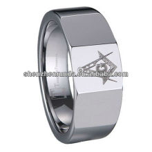 New Product 2014 Tungsten Masonic Rings laser Ring Manufacturer & Supplier & Exporter