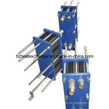 Intercambiador de calor de placas tipo junta (igual a M6B / M6M)