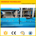 Highway protective waveform guarding board W beam Guardrail making Line