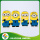 Cheap Price Silicone 3D Minions Cellphone Case