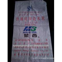 Beste Qualität mit dem niedrigsten Preis pp gewebte Zement Tasche