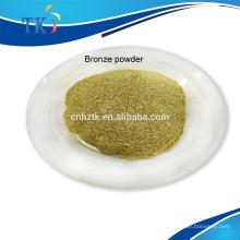 Utilisé pour l'encre Poudre de bronze or pâle / Poudre de cuivre bronze à pigment métallique