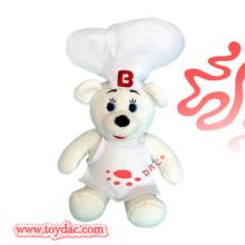 Plush Promotional Toy Chef Bear
