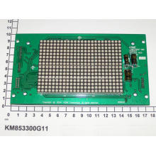 KONE COP Matriz de puntos de color rojo KM853300G11