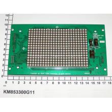 Коне КС доски Красный матричный Дисплей KM853300G11